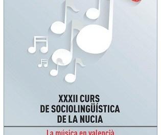 La música en valenciano protagoniza el Curso de Sociolingüística en la Sede Universitaria de La Nucia