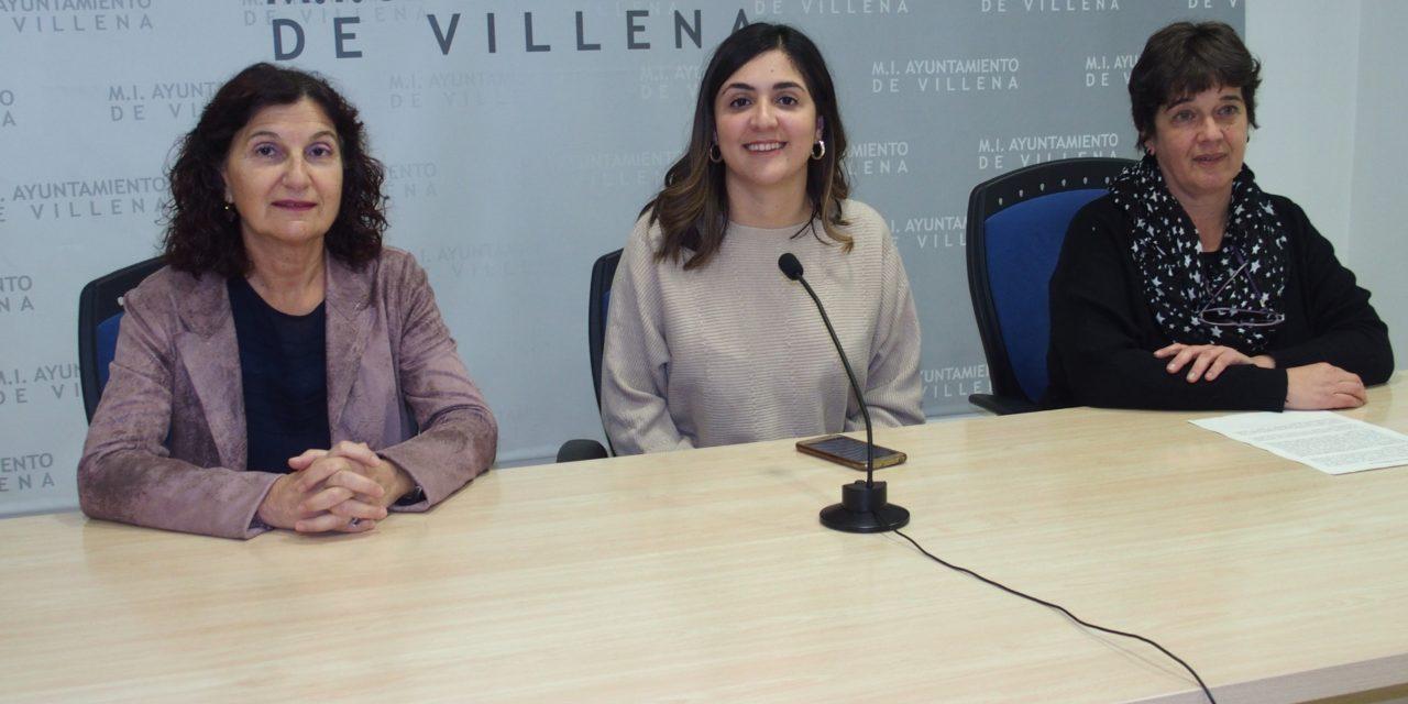 Concentración ruidosa en Villena por el Día Internacional de la Eliminación de las Violencias Contra las Mujeres