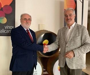Vinos Alicante DOP y la Asociación de Restaurantes de Alicante firman convenio de colaboración