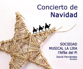 La Lira de l´Alfàs ofrece su tradicional Concierto de Navidad este sábado
