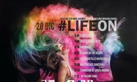 La concejalía de Juventud crea el evento  #LifeOn en Alicante de ocio alternativo para los jóvenes