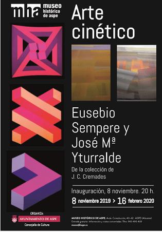 Exposició Art Cinètic a Aspe: Eusebio Sempere i José María Iturralde