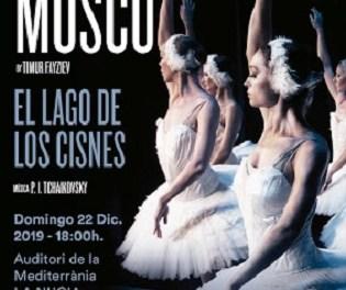 El Lago de los Cisnes del Ballet de Moscou a l'Auditori de la Mediterrània de La Nucia