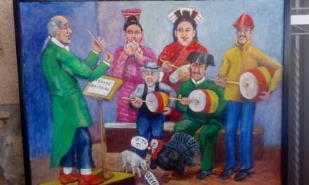 Exposición de Gonzalo Saavedra en el Casino Mediterráneo de Benidorm