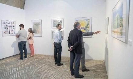 Últimos días para visitar en el Castillo de Santa Bárbara la exposición DibujandRo.»Miradas desde mi tableta»