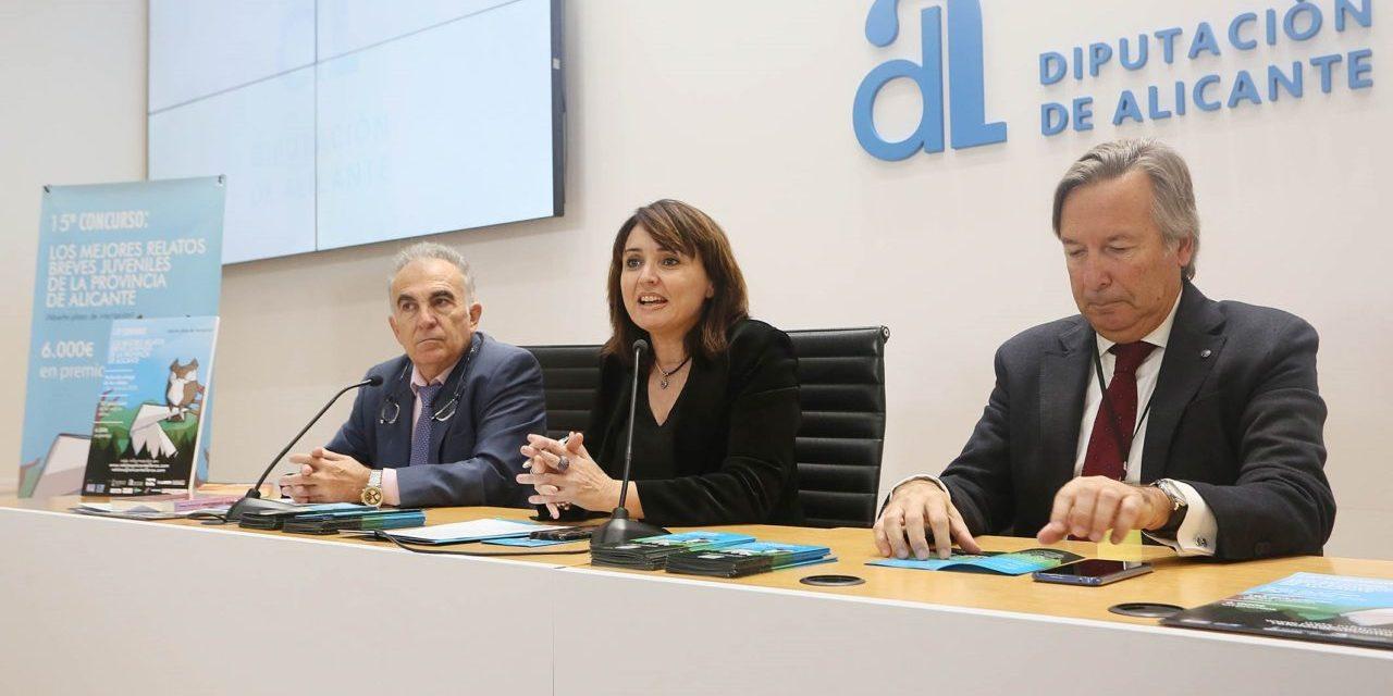 La Diputació d'Alacant impulsa una nova edició del concurs dels millors relats breus juvenils
