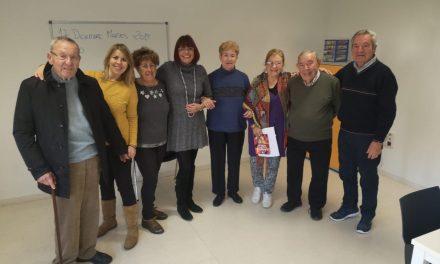 Serveis Socials amb AFADACE en la presentació del taller de reminiscència per a malalts d'alzheimer a El Campello