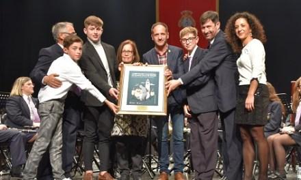 """La Sociedad Musical """"La Armónica"""" de Cox se alza con el primer premio del Certamen Nacional de Bandas Villa de Pinoso"""