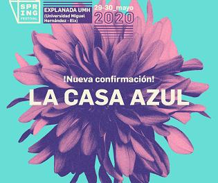 La Casa Azul, nueva y brillante segunda confirmación para Spring Festival 2020