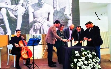 Homenaje a las víctimas del Holocausto en Alicante