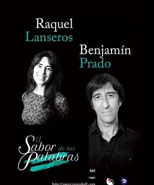 Ciclo literario DE PAR EN PAR con Benjamín Prado y Raquel Lanseros