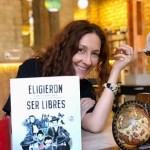 La escritora Chus Sánchez y sus relatos ilustrados sobre cinco mujeres españolas casi desconocidas