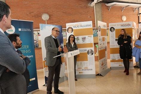 Las «Mujeres inventoras» toman la Facultad de Derecho de la Universidad de Alicante