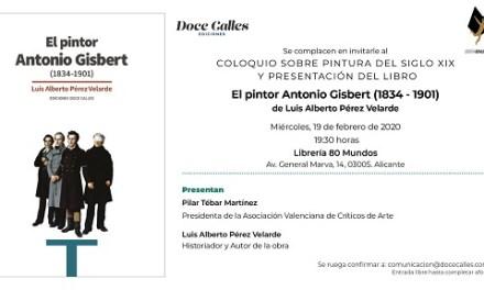 Col·loqui sobre art del segle XIX i el pintor Antonio Gisbert
