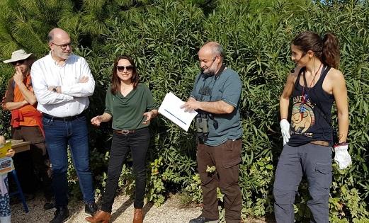 El parc La Marjal d'Alacant, hàbitat per a un centenar d'espècies d'ocells