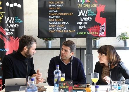 La Diputación presenta la edición de Fijazz «All Stars» en la que cobra protagonismo la presencia de artistas de reconocimiento internacional