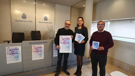 """Javier Cercas, Cristina Morales y Bernardo Atxaga en la quinta edición del ciclo literario """"La dignidad de la palabra"""""""