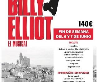 """La regidoria de joventut de Finestrat organitza una visita a Madrid per a veure el musical """"Billy Elliot"""""""