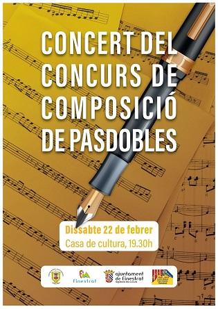 Finestrat es prepara per a conéixer el pasdoble guanyador del concurs de composició que convoca el Centre Musical Puig Campana