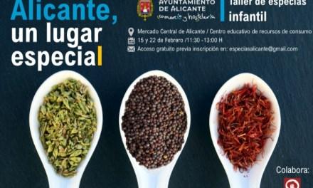 El Ayuntamiento de Alicante programa en febrero el I Taller educativo infantil gratuito sobre especias 'Alicante un lugar especial' en el CERCA