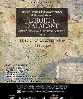 Jornades del Paisatge Cultural del Camp d'Alacant. L´Horta d'Alacant