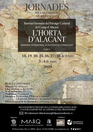 Jornadas del Paisatge Cultural del Camp d'Alacant. L´Horta d'Alacant