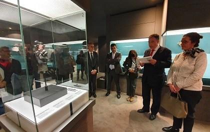 El MARQ consolida su proyección internacional con el protagonismo en Lisboa de la pieza 'La Mano Romana del Emperador'
