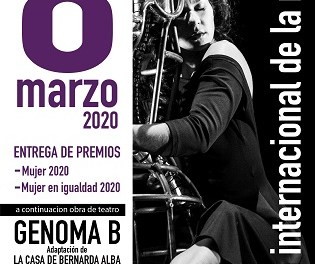 El 8 de marzo se conmemora el Día Internacional de la Mujer con una gala en el Teatro Municipal de Torrevieja