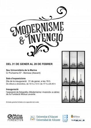 La Seu Universitària de la Marina i la Fundació Mutua Levante inauguren l'exposició 'Modernisme & invenció'
