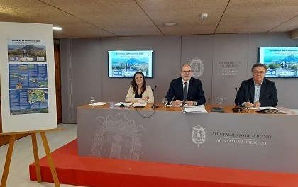 Alacant presenta les seues Senderes de Primavera 2020 amb un nou itinerari a través del Parc Inundable La Marjal