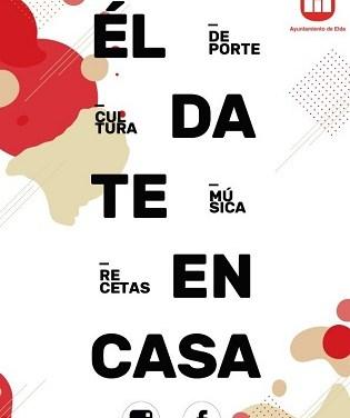 L'Ajuntament d'Elda prepara una programació cultural i d'oci online