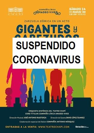 Torna la sarsuela al Teatre Chapí amb «GIGANTES Y CABEZUDOS»