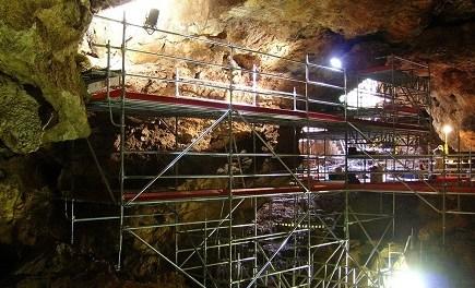 Un estudi revela la dieta del primat fòssil 'Theropithecus oswaldi' descobert en el jaciment de Cova Victoria