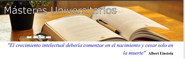 Obert el termini de preinscripció per als màsters universitaris de la Universitat d'Alacant