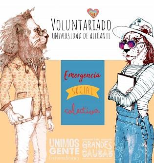 La Universitat d'Alacant posa en marxa el programa de Voluntariat d'Emergència Social Col·lectiva