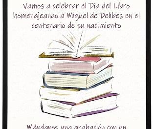 Alacant celebra hui el dia del llibre amb propostes en línia al voltant de la figura de Miguel Delibes