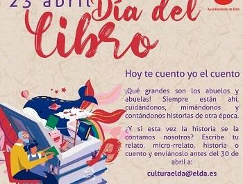 El Ayuntamiento de Elda organiza 'Hoy te cuento yo el cuento' con motivo de la celebración del Día del Libro