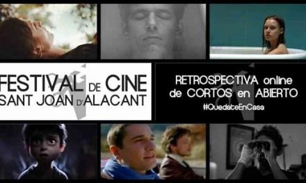 Retrospectiva online de cortos del Festival de Cine de Sant Joan d'Alacant