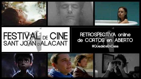 Retrospectiva online de curts del Festival de Cinema de Sant Joan d'Alacant