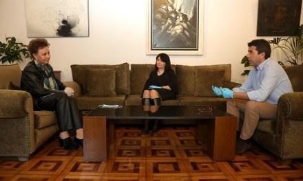 La Casa Bardín abre sus puertas para acoger la primera reunión de trabajo con la nueva directora cultural