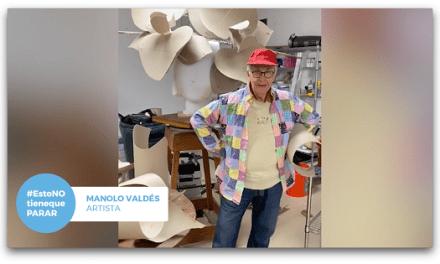 Els artistes Manolo Valdés i Jaume Plensa mostren com treballen durant el confinament i llancen un missatge de suport a la societat