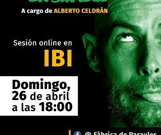 El Ayuntamiento de Ibi y la Fàbrica de Paraules preparan un cuento teatralizado online para los niños y niñas este domingo