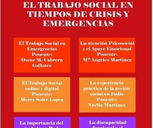 Seminario para analizar el papel de los-as Trabajadores-as Sociales en situaciones de emergencia