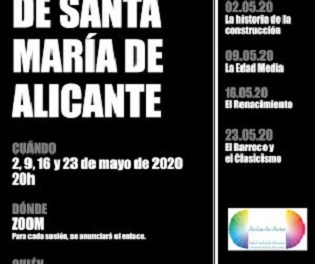 Clases online sobre la Basílica de Santa María de Alicante