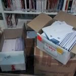 Cultura realiza el primer envío de 600 libros para los ninos y niñas de Alcoy