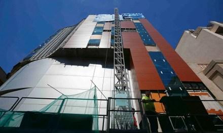 Al juny finalitzaran les obres de reparació de la façana del Palau de la Música de Torrevella