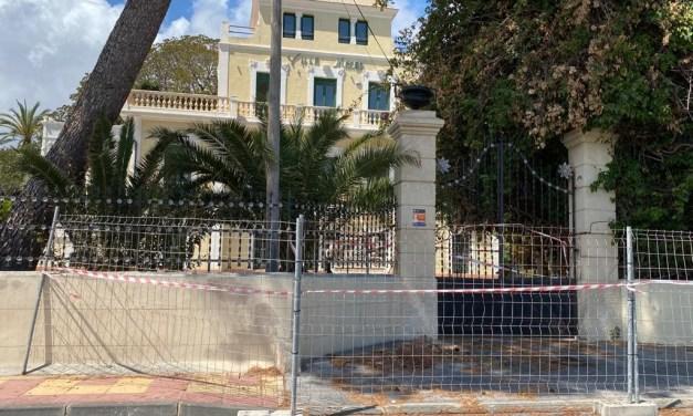 El Ayuntamiento de El Campello provisiona 175.000 euros para mejoras de la finca Villa Marco