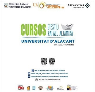 El próximo lunes comienzan los Cursos de Verano Rafael Altamira de la Universidad de Alicante