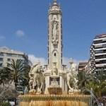 El Ayuntamiento de Alicante restaura la fuente de la Plaza de los Luceros con unas obras de más de trescientos mil euros