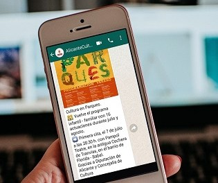 L'Ajuntament d'Alacant posa en marxa una nova via per a informar d'esdeveniments i actes culturals a la ciutadania